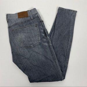 "Madewell 28 9"" High Riser Skinny Skinny Jeans Shaw"